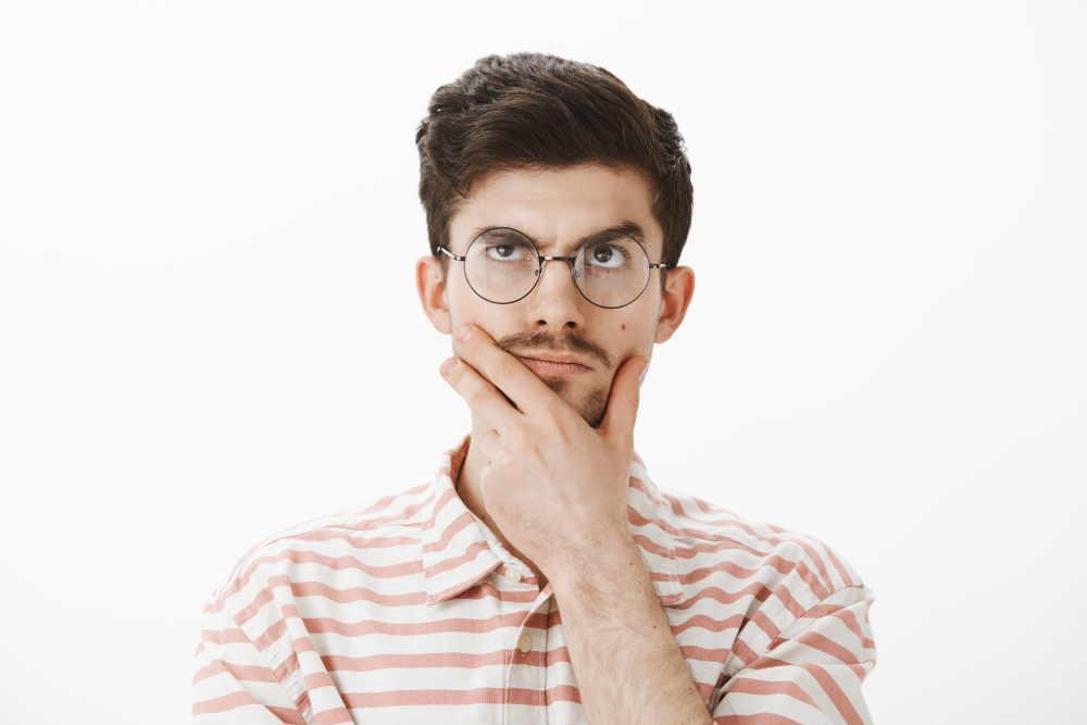 Pensieri dell'uomo sulle mestruazioni